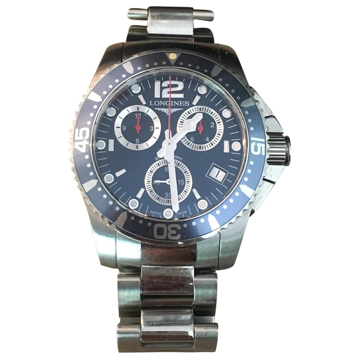 Longines HydroConquest  Silver Steel watch for Men \N