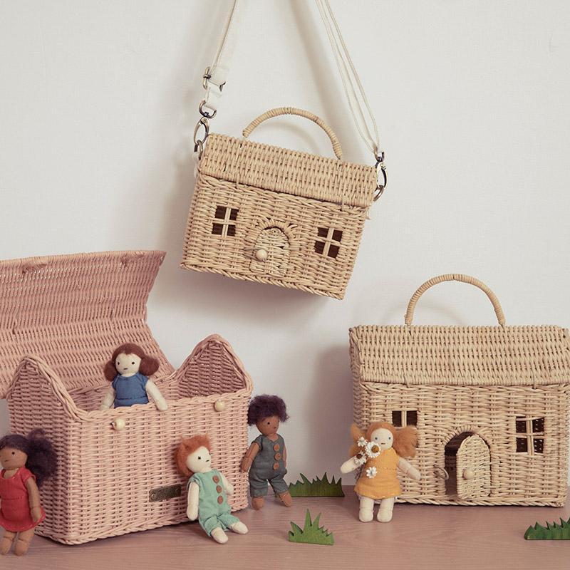 Olli Ella Casa Bag Straw