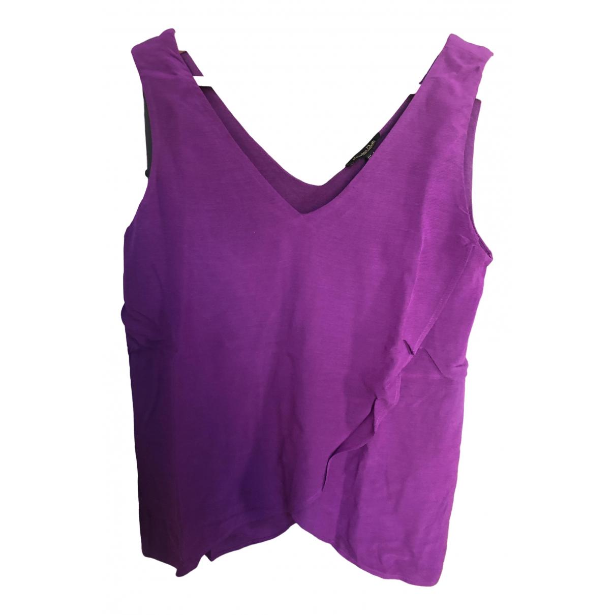 Massimo Dutti - Top   pour femme - violet