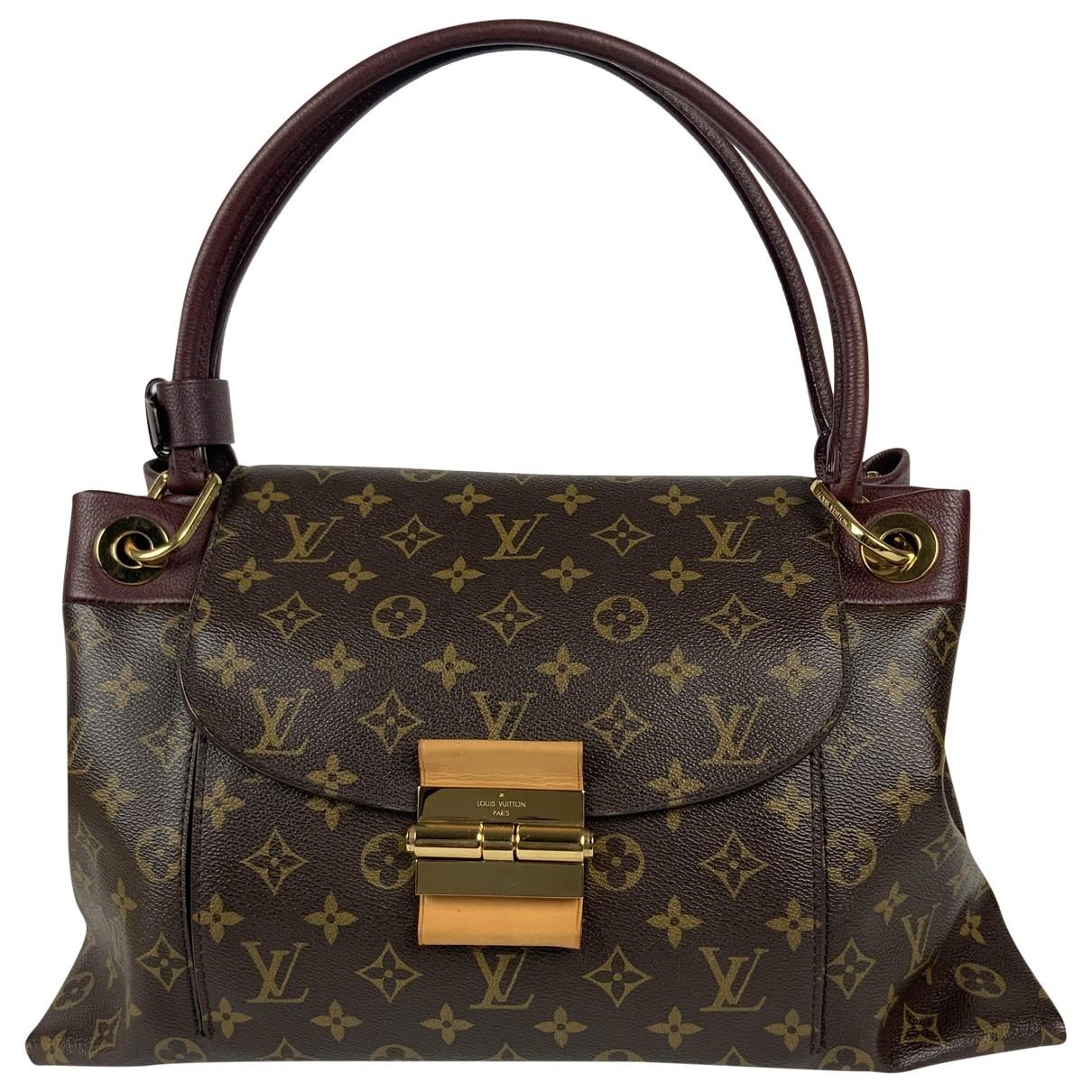 Louis Vuitton Olympe Brown Cloth handbag for Women \N