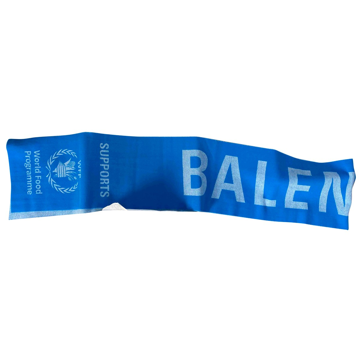 Balenciaga \N Tuecher, Schal in  Blau Baumwolle