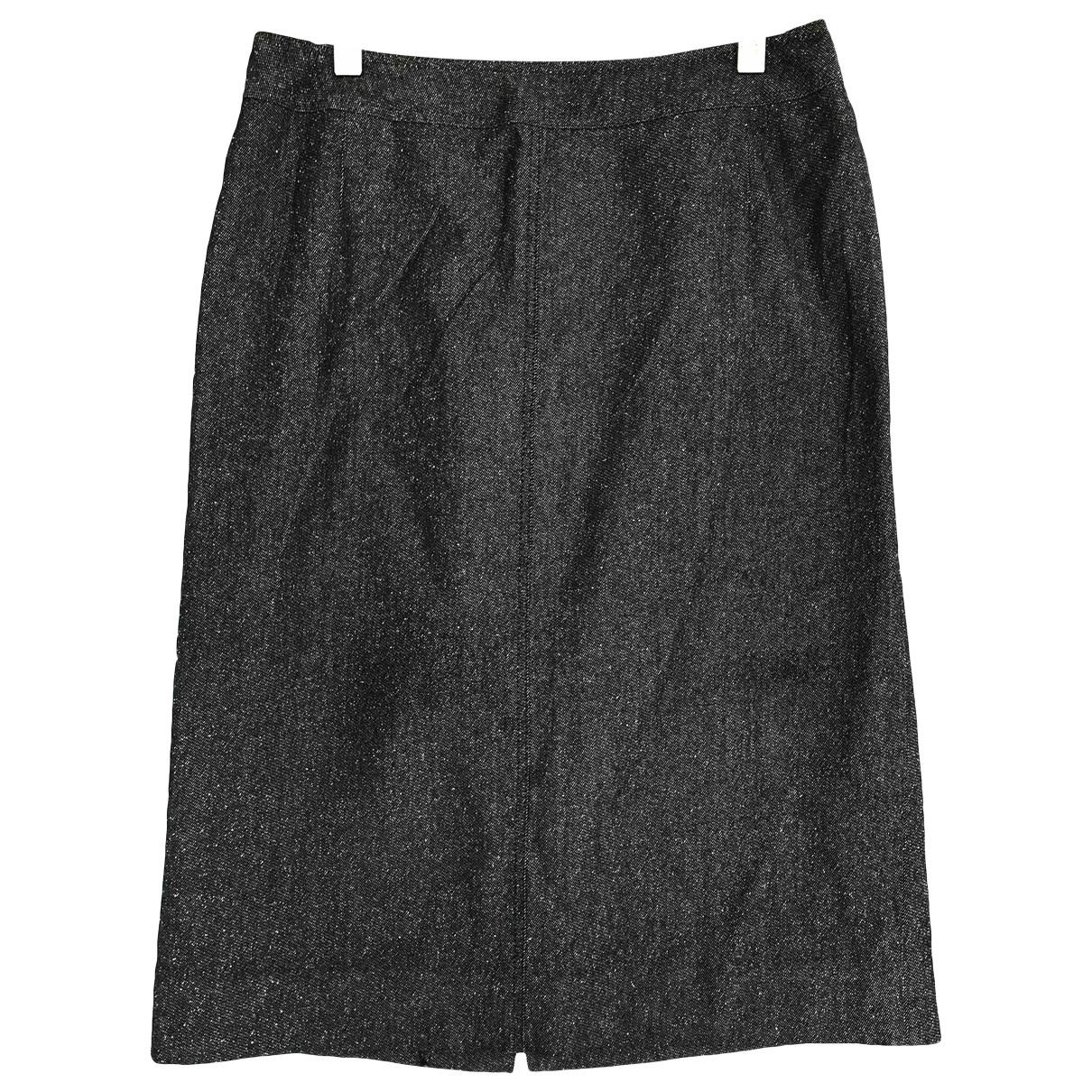 Burberry \N Black Wool skirt for Women M International