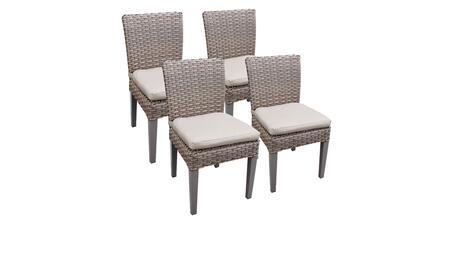 Monterey Collection MONTEREY-TKC290b-ADC-2x-C-BEIGE 4 Side Chairs - 2 Sets of Beige