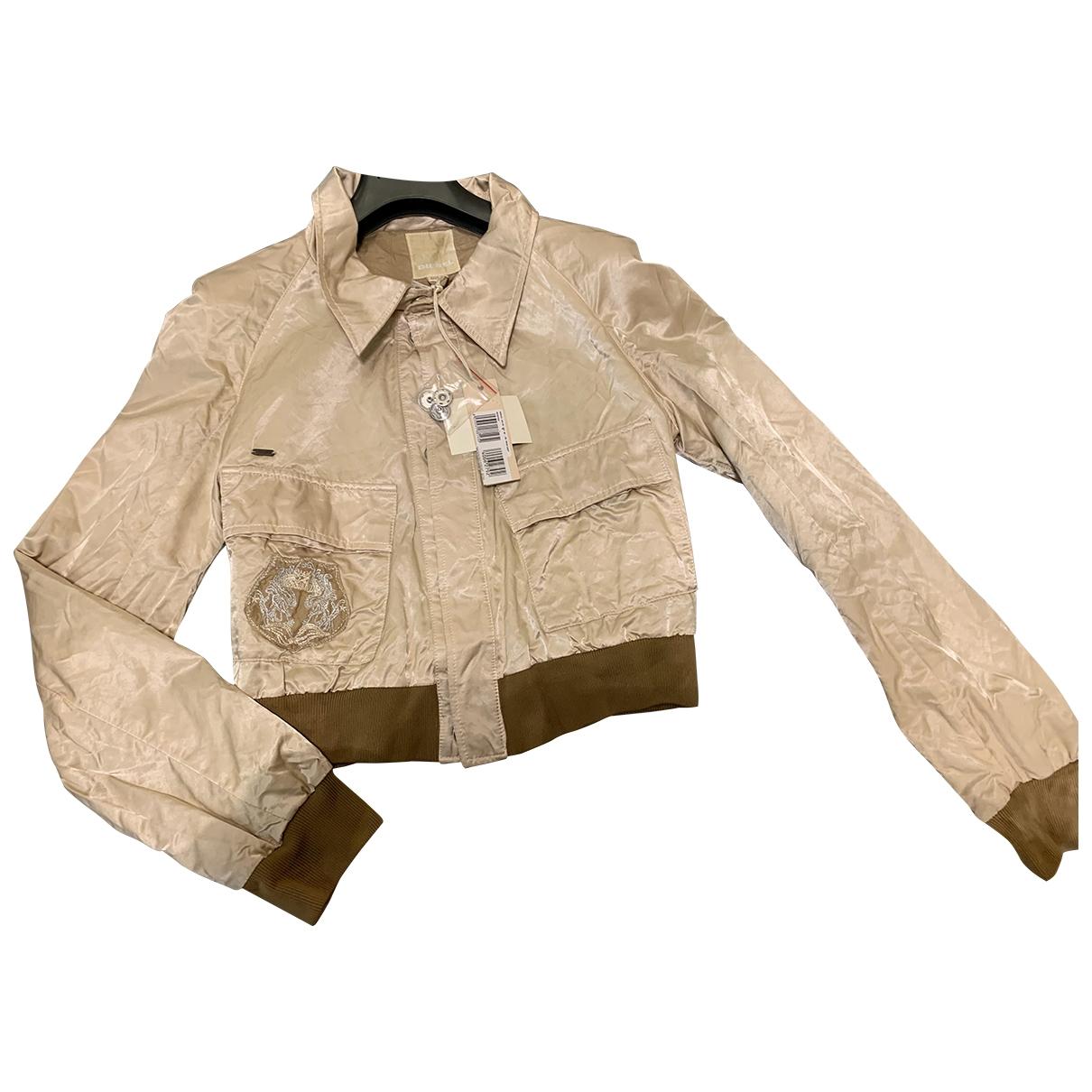 Diesel \N Beige Cotton jacket for Women M International