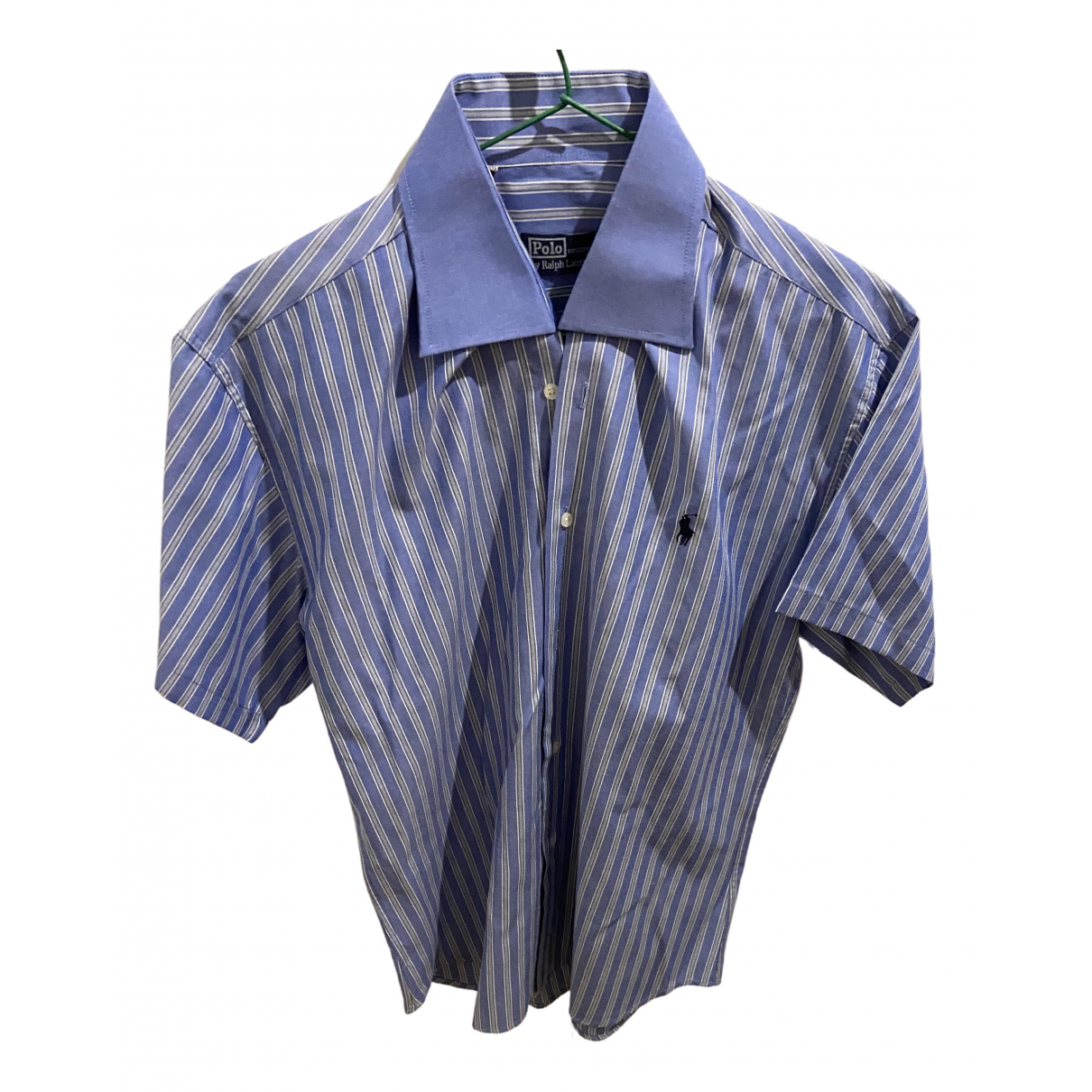 Polo Ralph Lauren \N Blue Cotton Shirts for Men XXL International