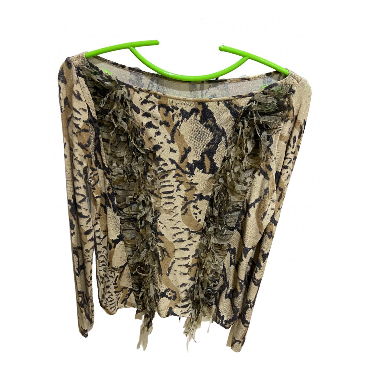 Blumarine N Beige Cashmere Knitwear for Women 40 IT