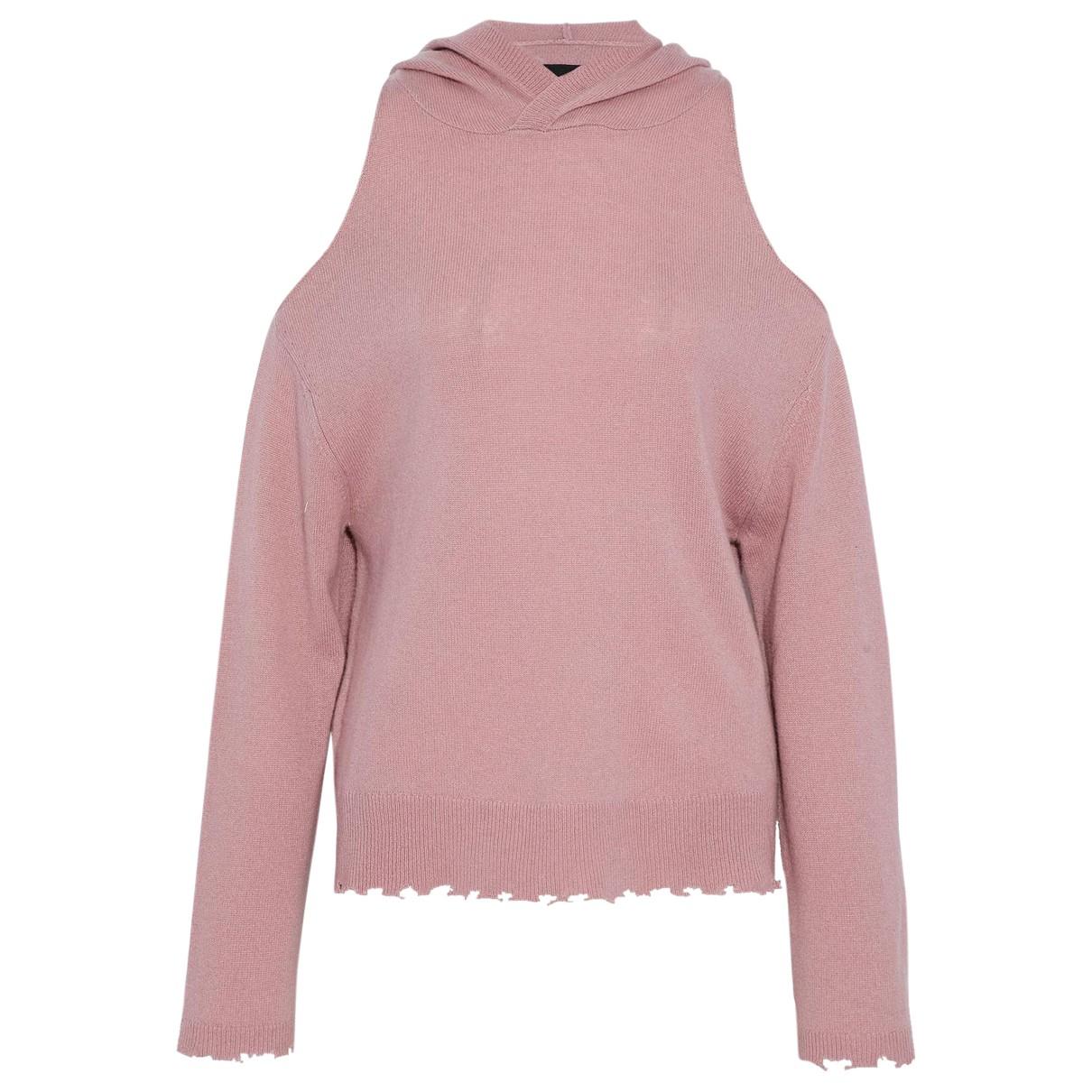 Rta - Pull   pour femme en cachemire - rose