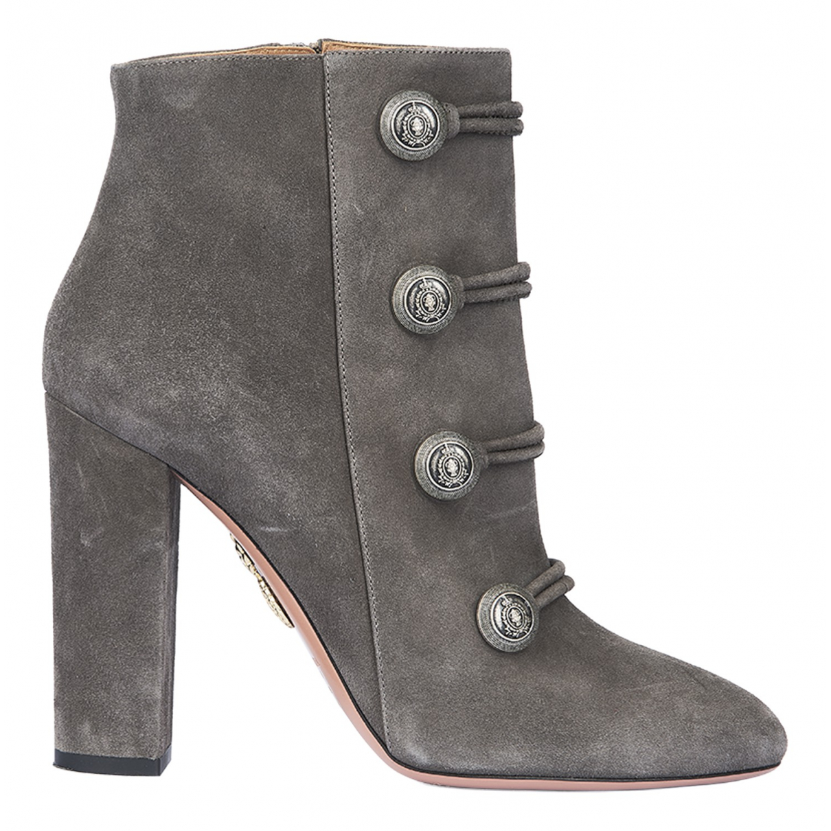 Aquazzura N Grey Suede Ankle boots for Women 6.5 UK