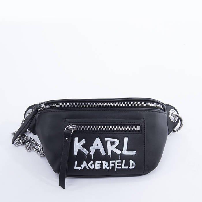 Karl Lagerfeld K/Soho Graffiti Bumbag 206W3073 998