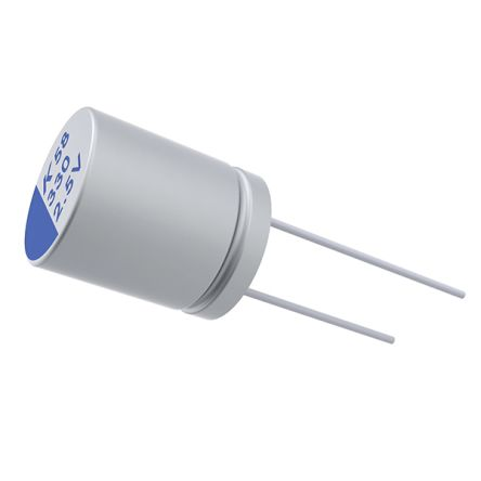 KEMET 220μF Electrolytic Capacitor 16V dc, Through Hole - A758KK227M1CEAE014 (1000)