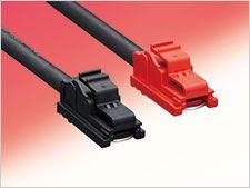 Hirose EF1 Series inline connector Cable Mount Plug, 1P, Crimp Termination, 160A, 1 kV ac/dc (10)