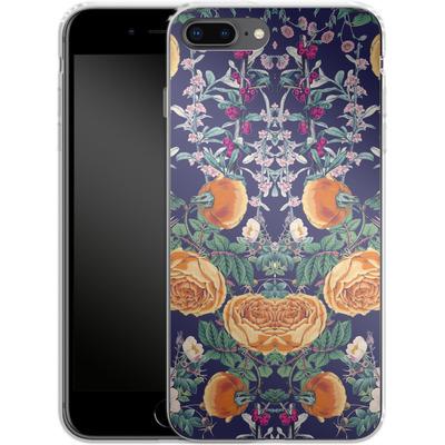 Apple iPhone 8 Plus Silikon Handyhuelle - Midnight Spring von Zala Farah