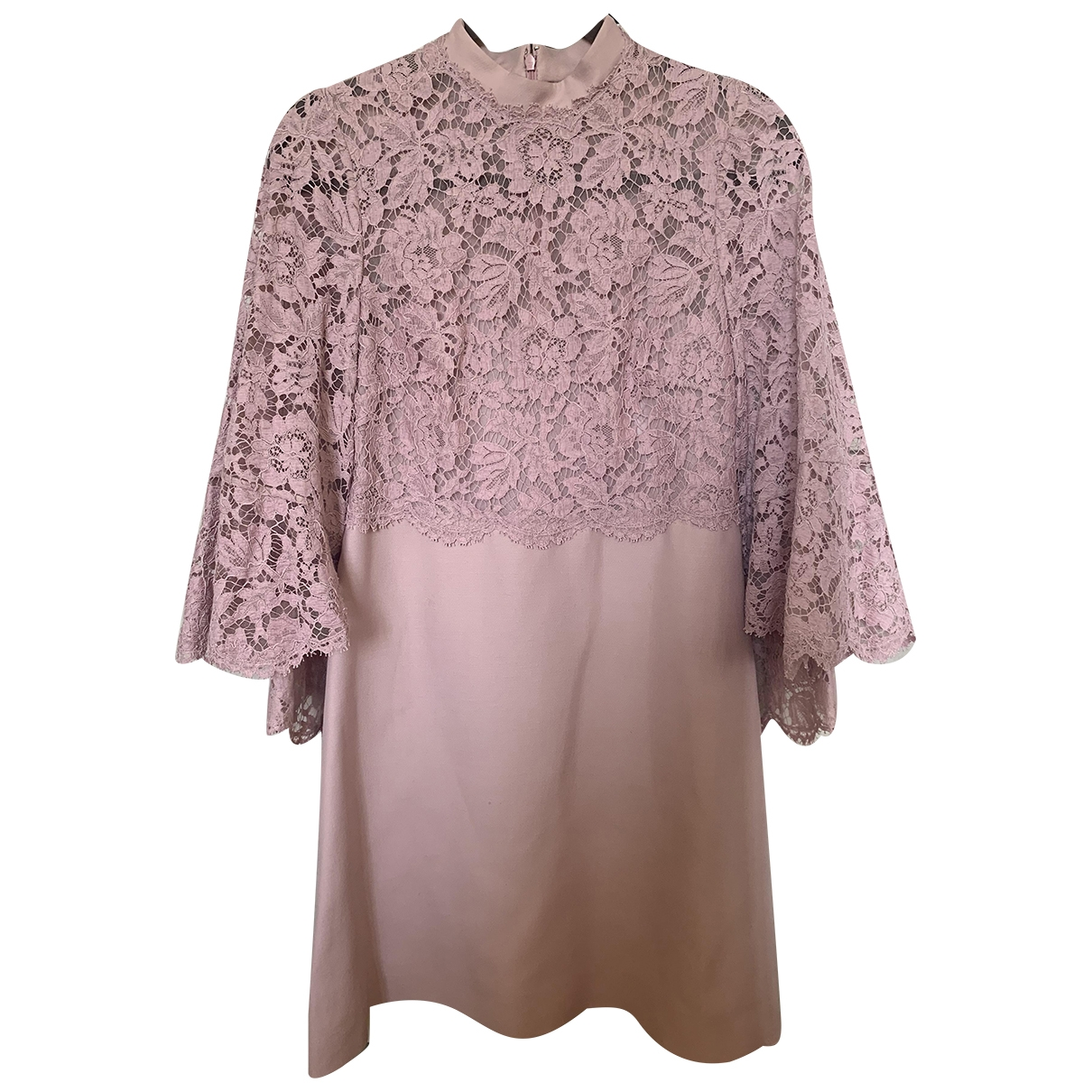Valentino Garavani \N Pink Lace dress for Women 40 IT