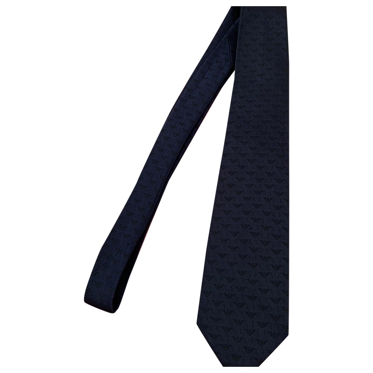 Emporio Armani \N Blue Silk Ties for Men \N