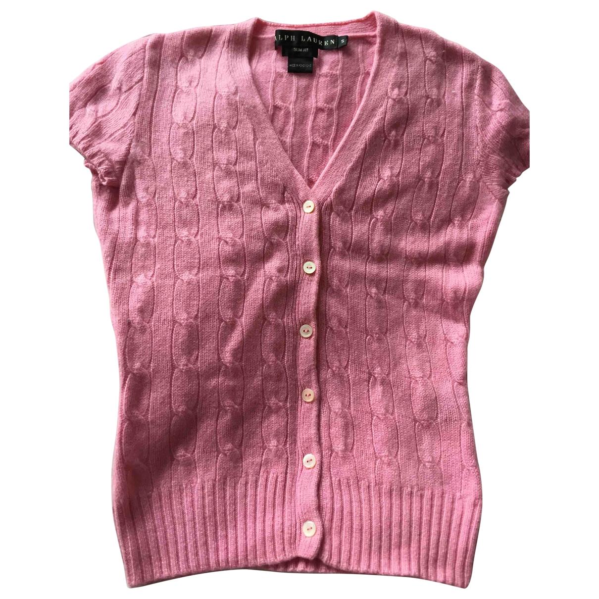 Ralph Lauren \N Pullover in  Rosa Kaschmir