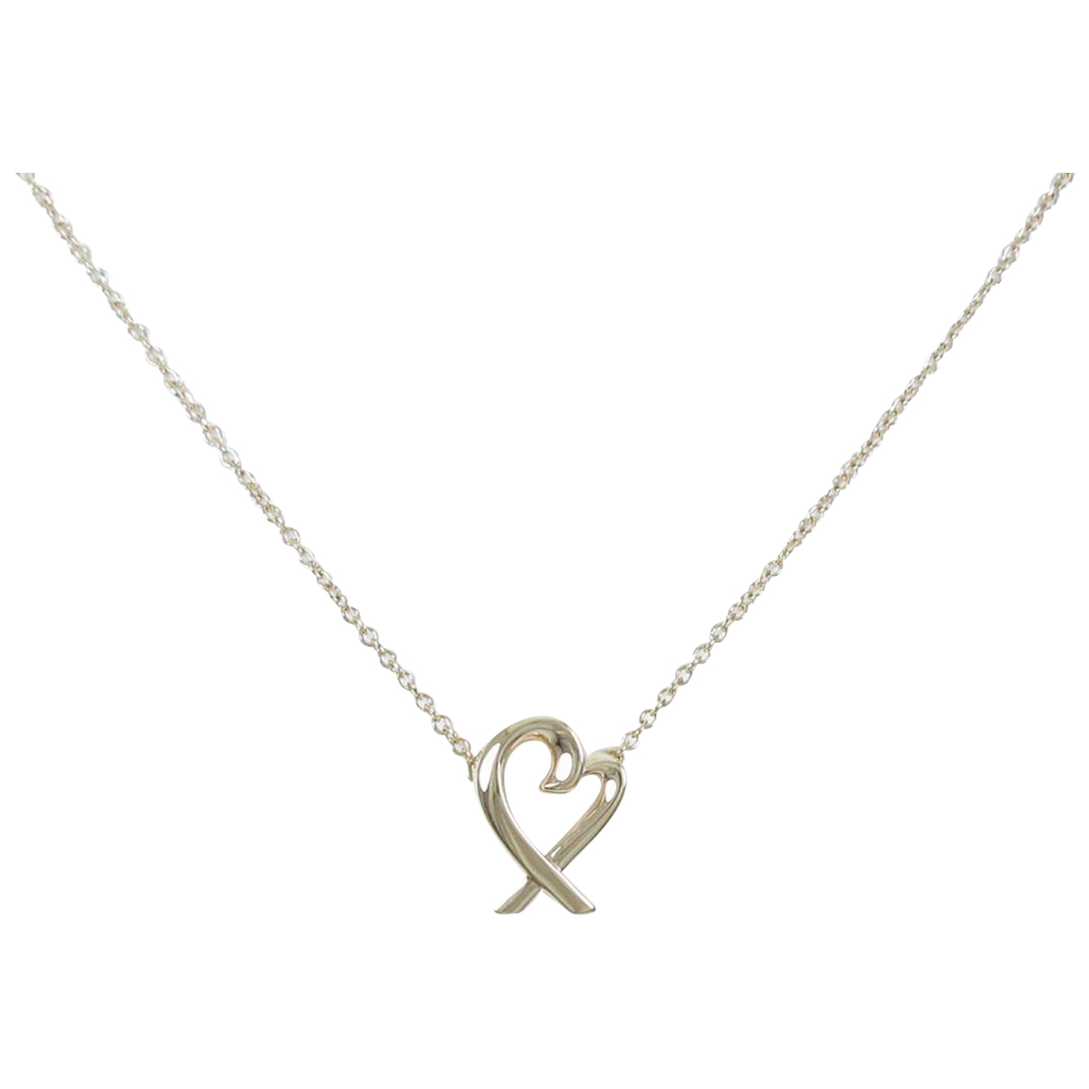 Tiffany & Co Paloma Picasso Kette in  Gold Rosegold