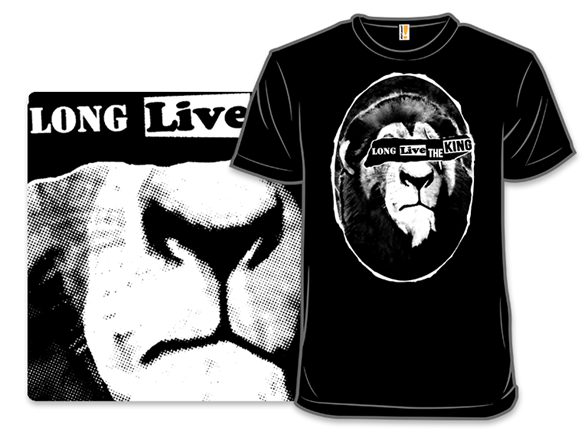 Long Live The King T Shirt