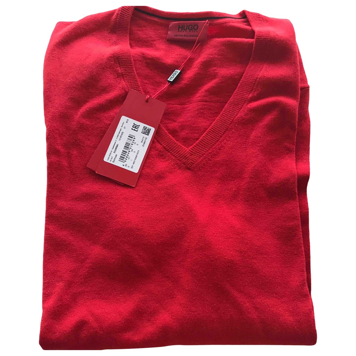 Hugo Boss - Polos   pour homme en soie - rouge