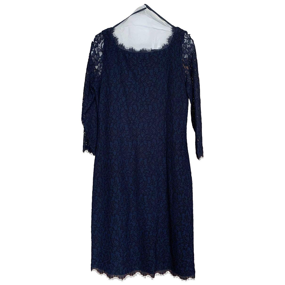 Diane Von Furstenberg \N Blue dress for Women 12 US