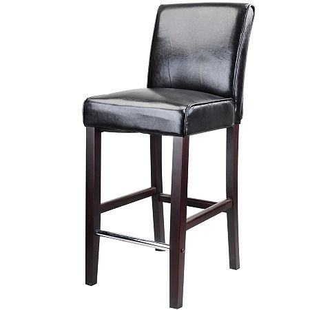 Antonio Bar Height Barstool, One Size , Black