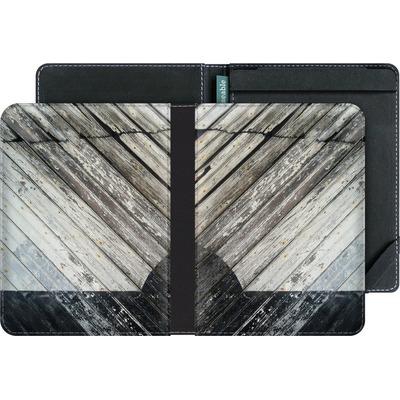 tolino vision 3 HD eBook Reader Huelle - Diagonal Wood von Brent Williams