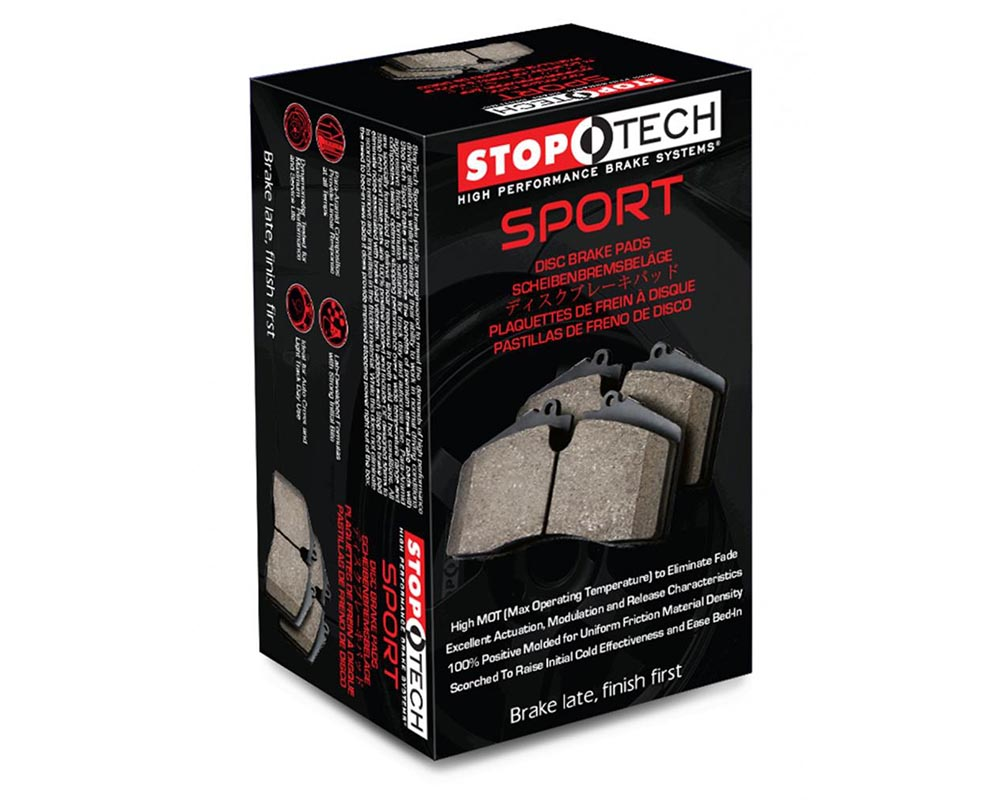 StopTech 309.07921 Sport Brake Pads with Shims/Hardware Rear