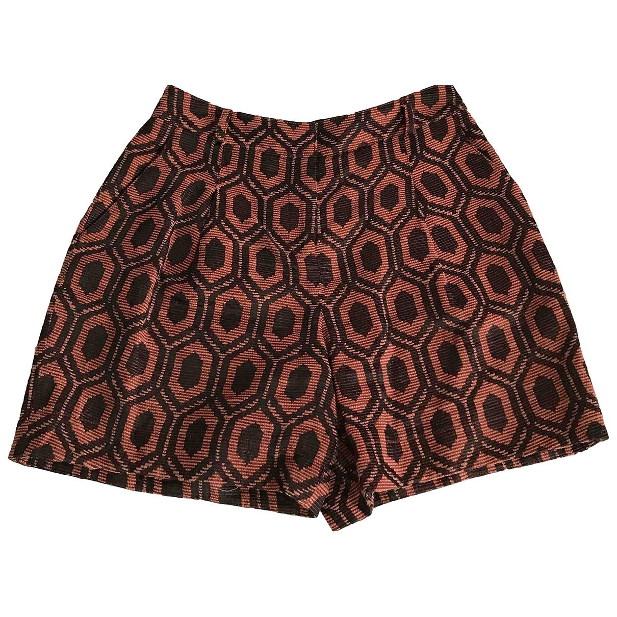 Burberry - Short   pour femme en coton