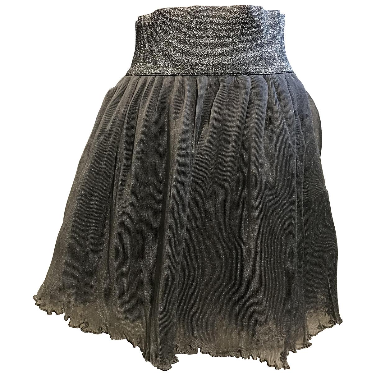 Manoush \N Rocke in  Silber Polyester