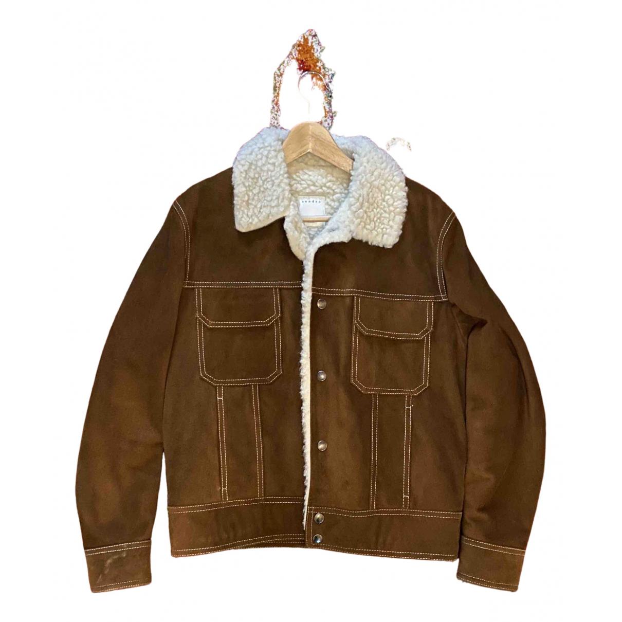 Sandro \N Brown Leather jacket  for Men L International