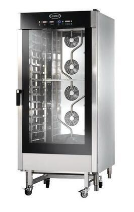 XAV1605PL240 240 Volt Cheftop 16 Pan  34-1/8 x 48-3/4 x 73-5/16  Combi Oven with AIR.Maxi  STEAM.Maxi  DRY.Maxi and ADAPTIVE.Clima Itegrated