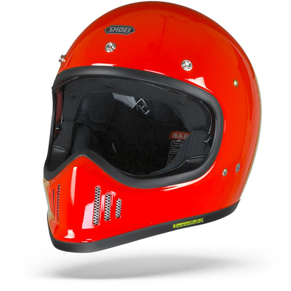 Shoei Ex-Zero Shine Red Full Face Helmet L