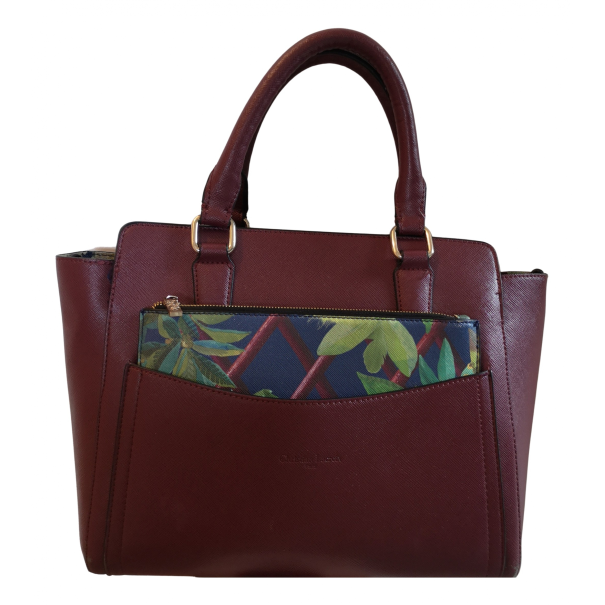Christian Lacroix \N Handtasche in  Rot Synthetik