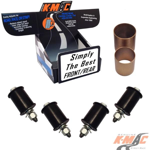 K-Mac Front Camber & Caster Adjustable Bushing Kit Mercedes Sprinter W903 95-06