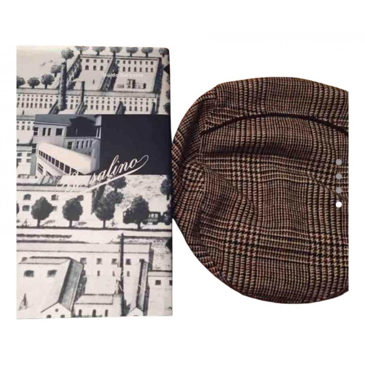 Borsalino - Chapeau & Bonnets   pour homme en cachemire - marron