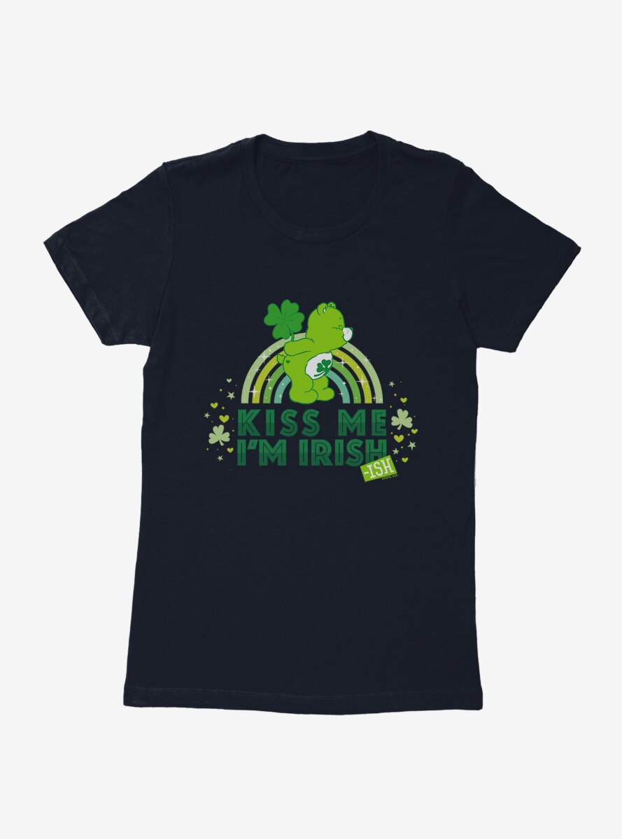 Care Bears Kiss Me I'm Irish Womens T-Shirt