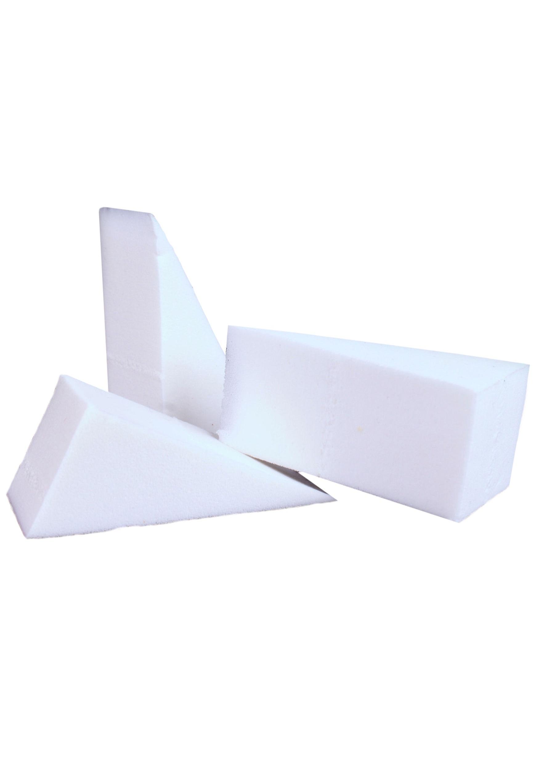 Mehron Triangular Foam Non Latex Sponge 6 pack