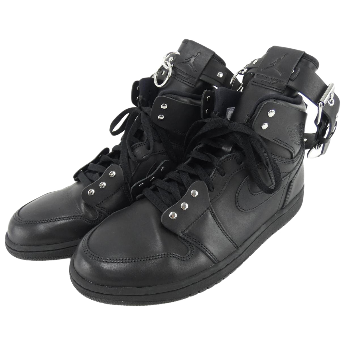 Nike X Comme Des Garçons \N Black Cloth Trainers for Men 11 US