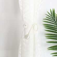 1pair Twistable Curtain Tie Back