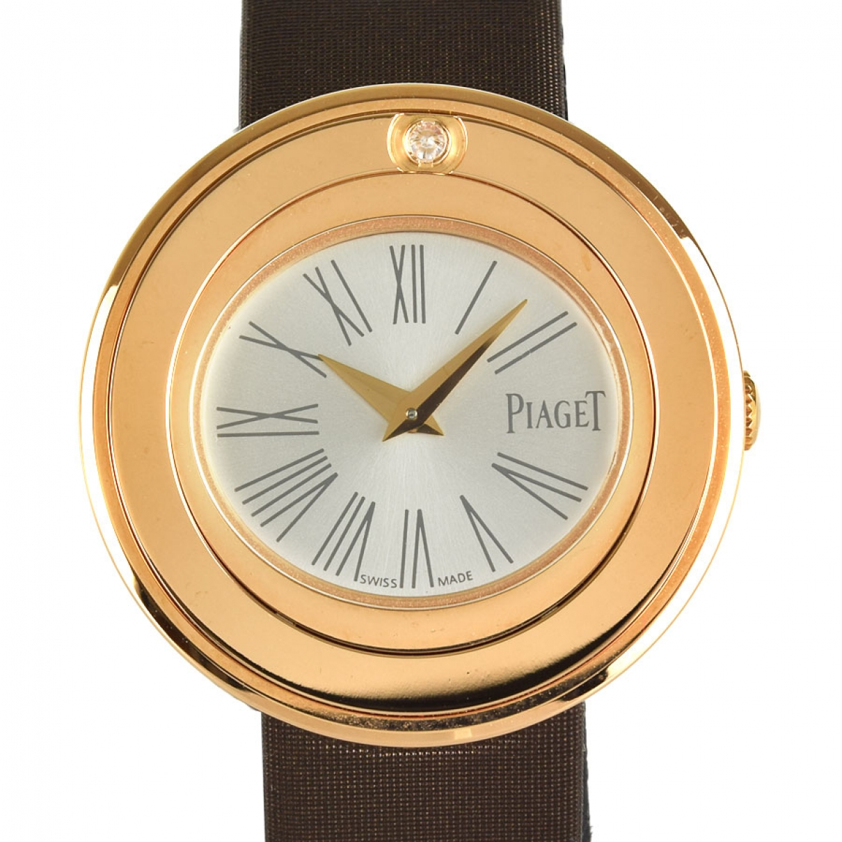 Piaget \N Silver Pink gold watch for Women \N