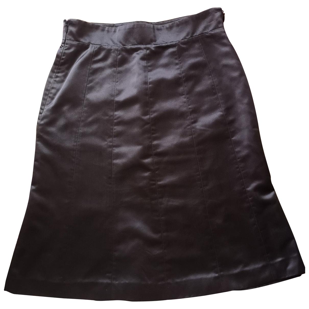 Aspesi - Jupe   pour femme en soie - marron