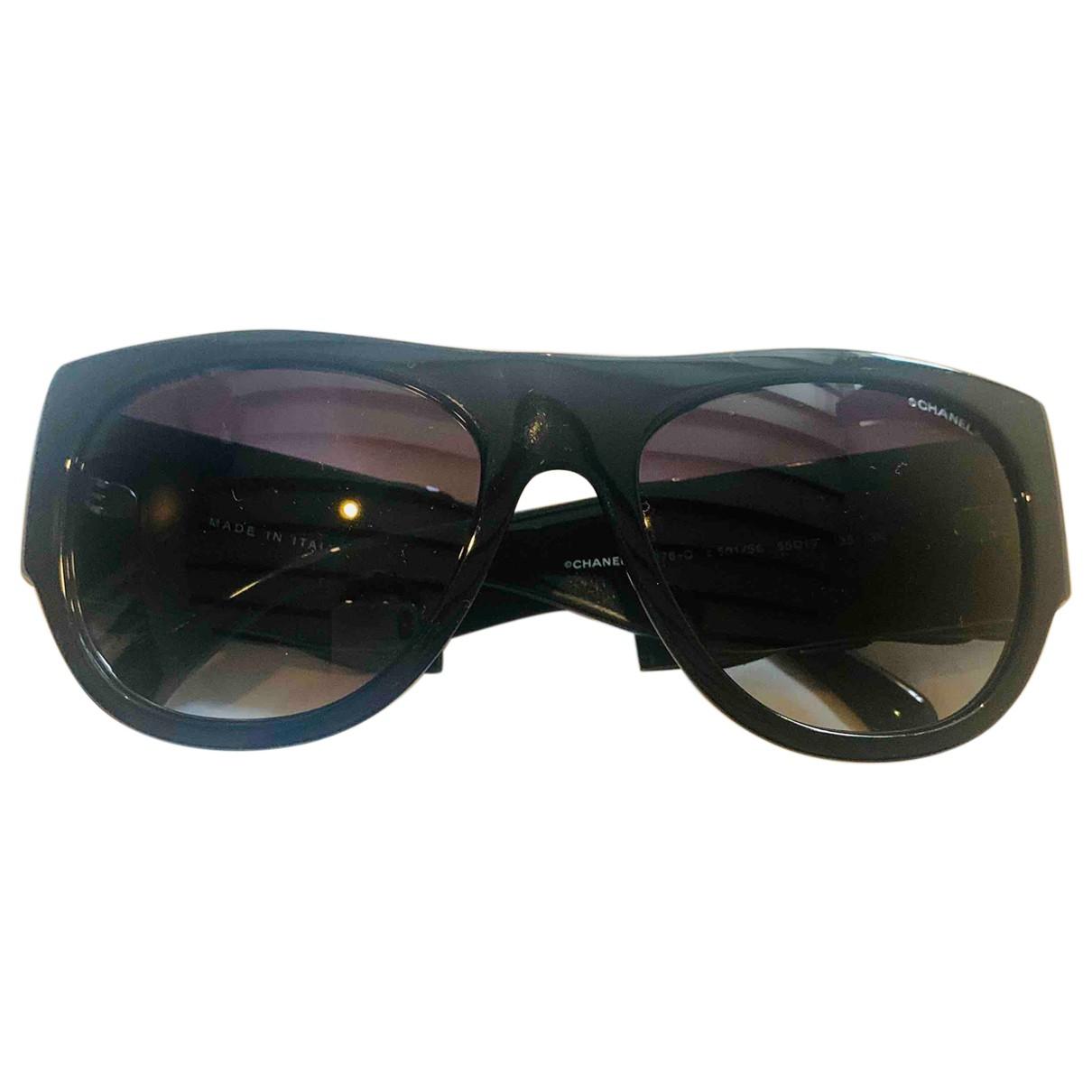 Chanel \N Sonnenbrillen in  Schwarz Kunststoff
