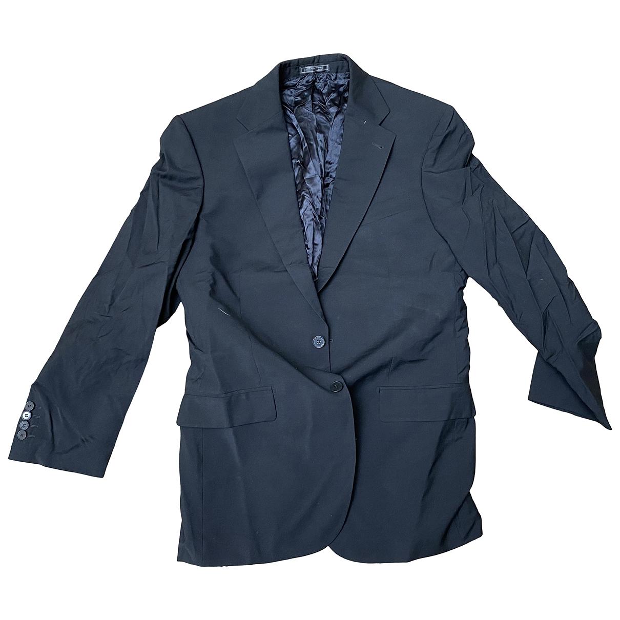 De Fursac \N Black Wool jacket  for Men 50 FR