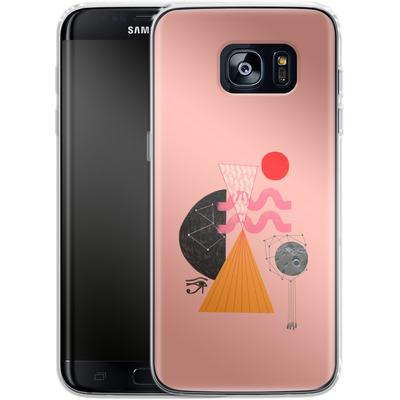 Samsung Galaxy S7 Edge Silikon Handyhuelle - Sun-Exp von Victoria Topping
