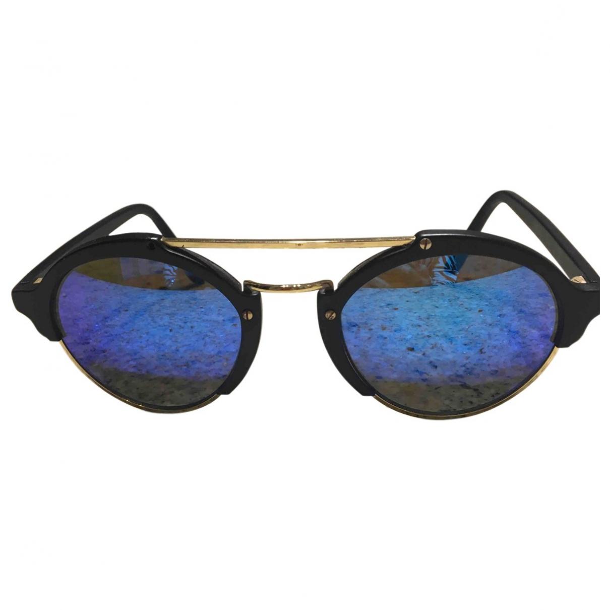 Illesteva - Lunettes   pour femme en metal - bleu