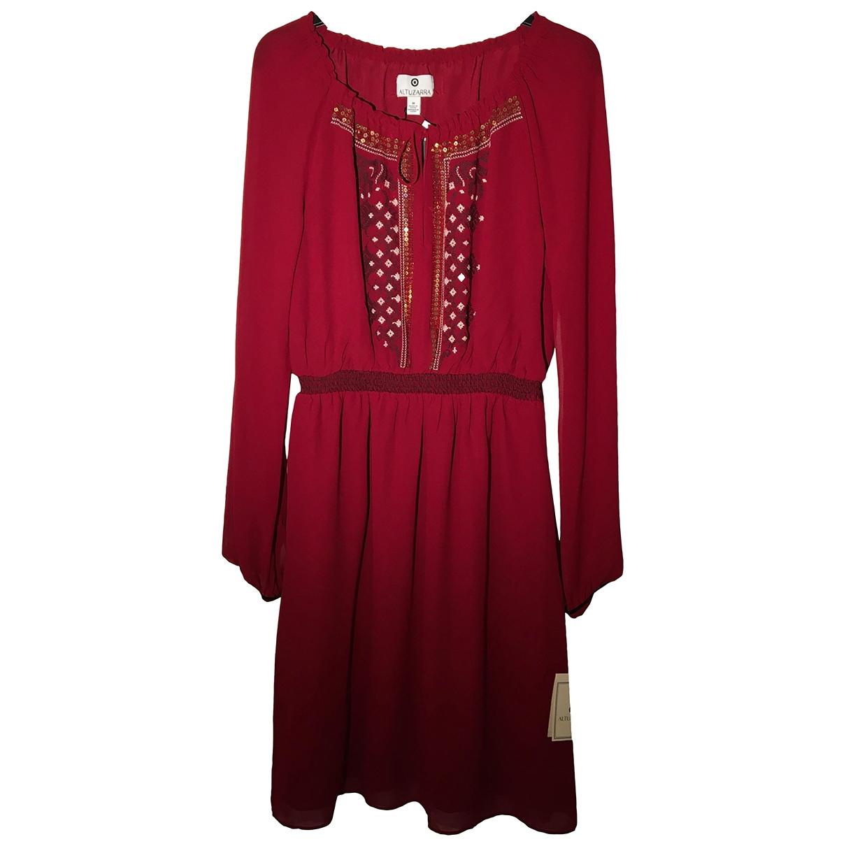 Altuzarra - Robe   pour femme en a paillettes - bordeaux