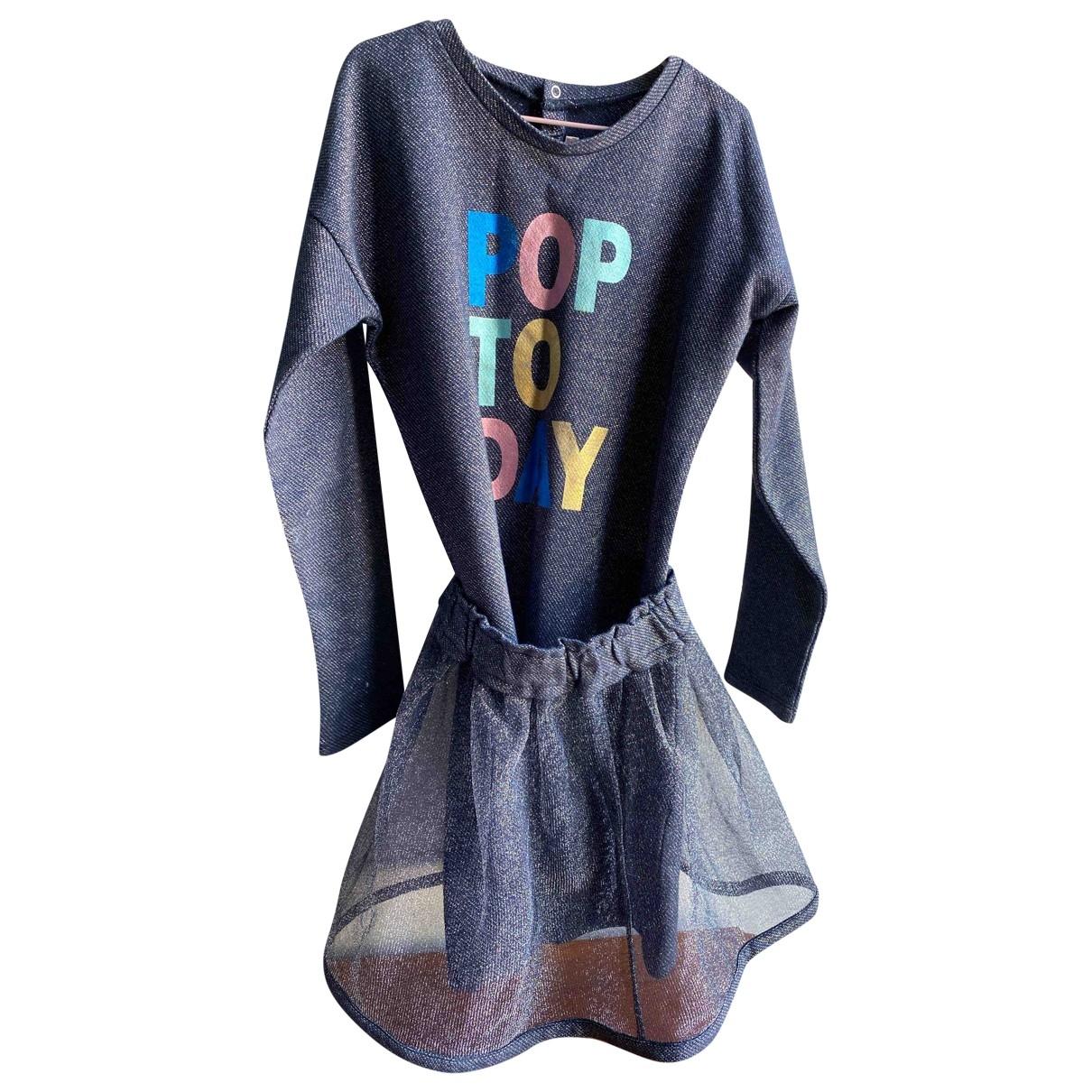 Billieblush - Robe    pour enfant en a paillettes - metallise
