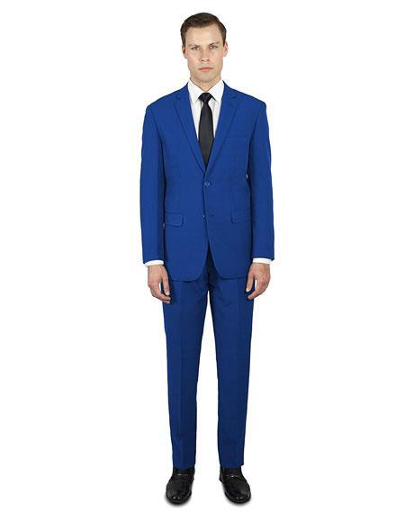 Alberto Nardoni Best Holiday Outfit Indigo ~ Electric Blue ~ Cobalt