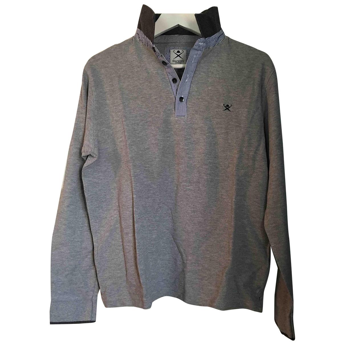 Hackett London - Chemises   pour homme en coton - gris