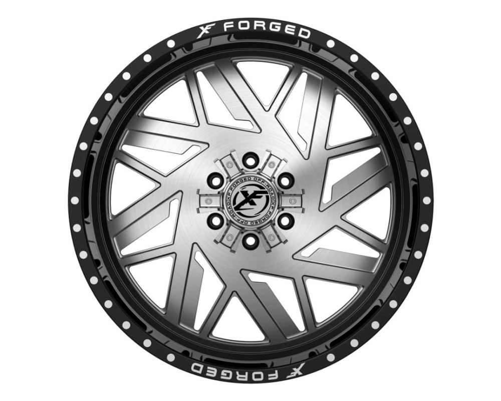 XF Off-Road XFX-306 Wheel 26x14 5x127|5x139.7 -76mm Gloss Black w/ Brushed Face