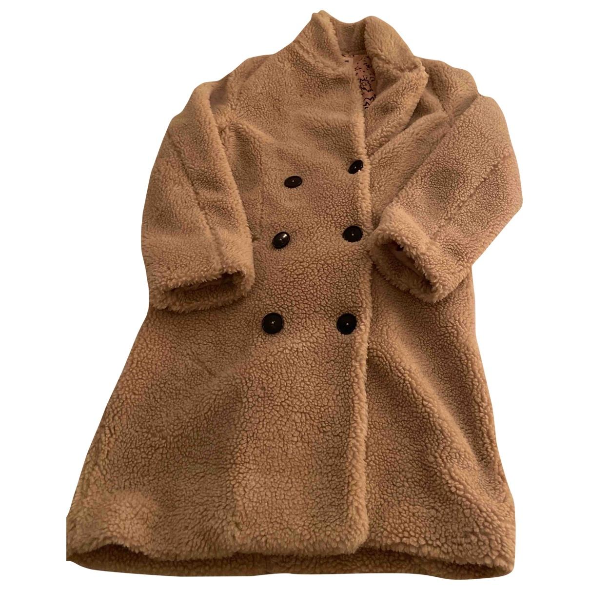 Zadig & Voltaire \N Beige Cotton coat for Women 36 FR
